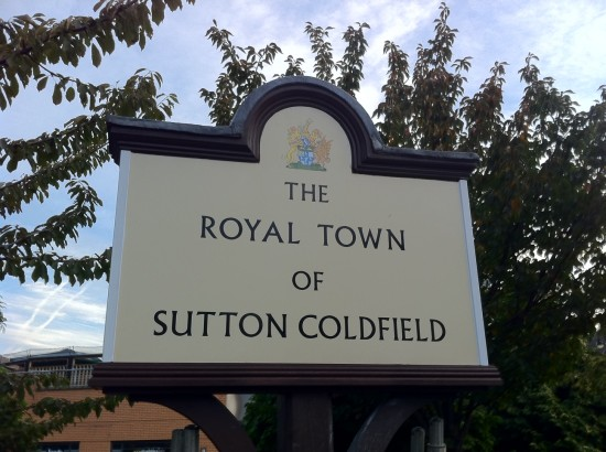 Royal Town Of Sutton Coldfield